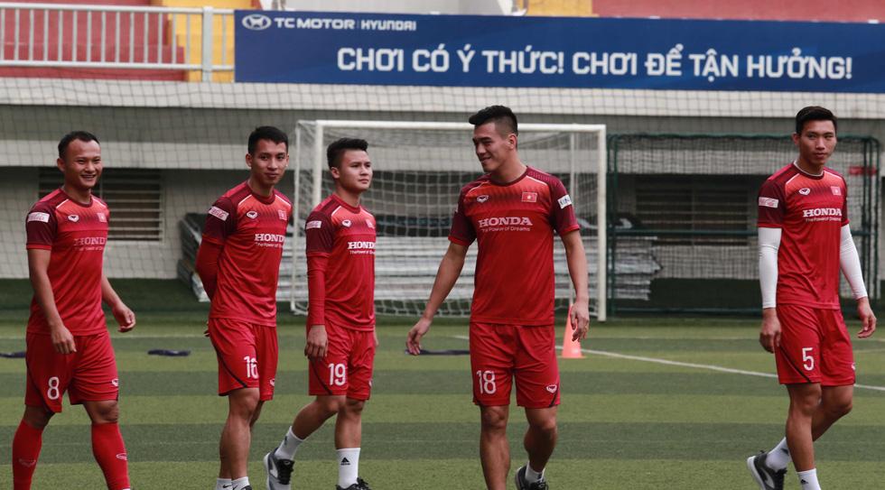 5 cầu thủ đá trận gặp Thái Lan tập riêng trong buổi tập của U22 Việt Nam - Ảnh 3.