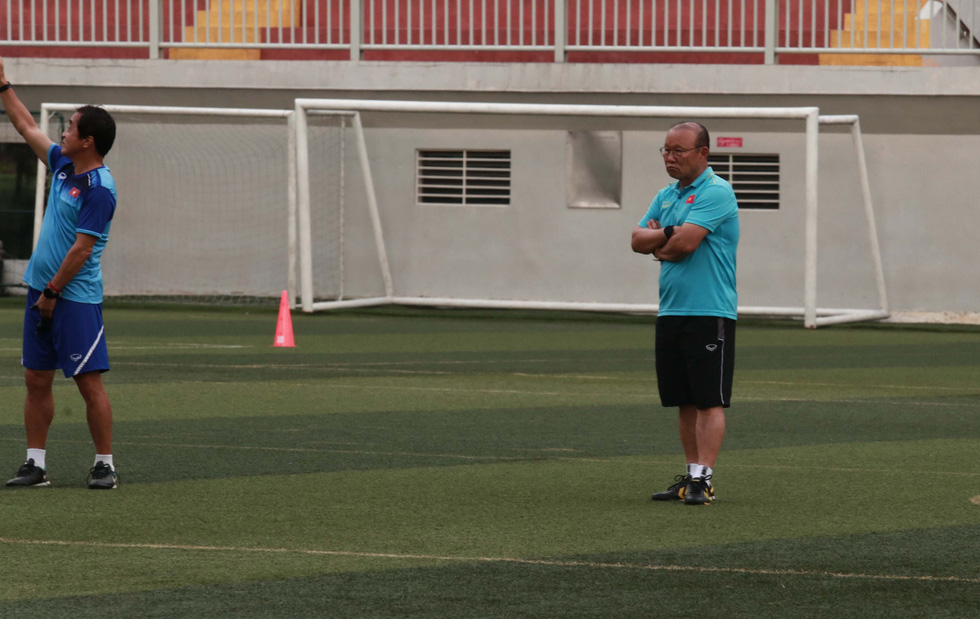 5 cầu thủ đá trận gặp Thái Lan tập riêng trong buổi tập của U22 Việt Nam - Ảnh 6.