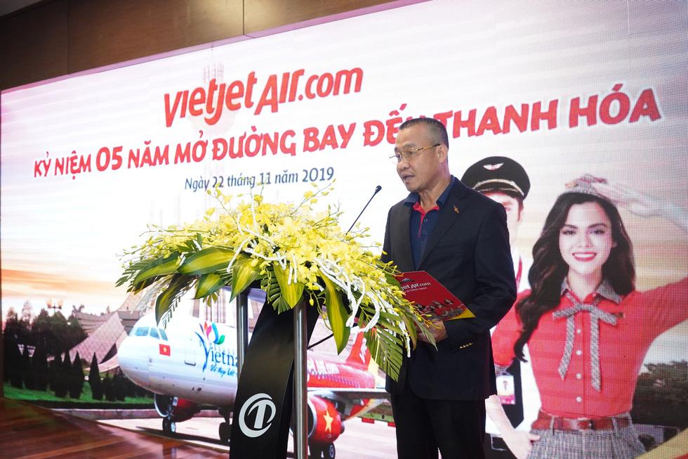 Vietjet phục vụ 2,2 triệu lượt hành khách sau 5 năm cất cánh tại Thanh Hoá - Ảnh 1.