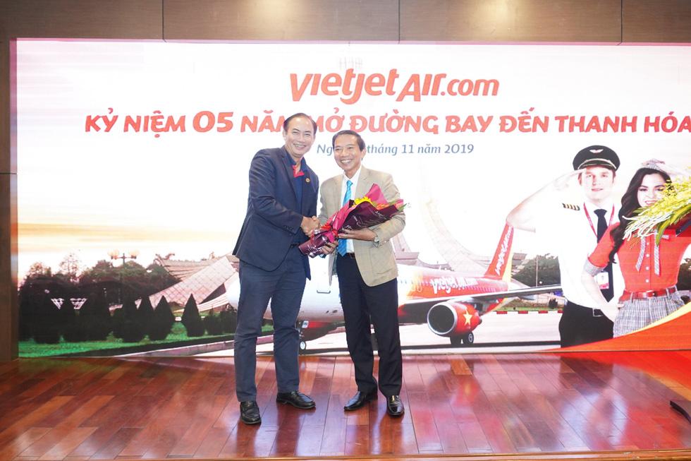 Vietjet phục vụ 2,2 triệu lượt hành khách sau 5 năm cất cánh tại Thanh Hoá - Ảnh 3.