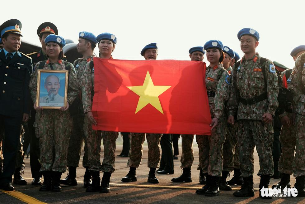 Ngựa thồ C17 Úc đưa quân nhân Việt Nam đi Nam Sudan gìn giữ hoà bình - Ảnh 10.