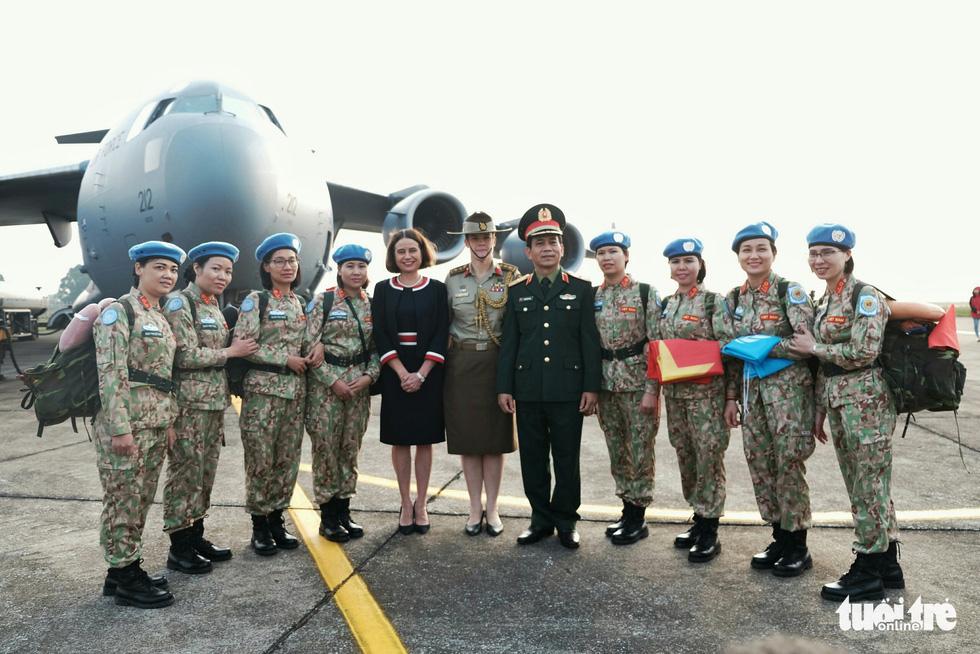 Ngựa thồ C17 Úc đưa quân nhân Việt Nam đi Nam Sudan gìn giữ hoà bình - Ảnh 5.