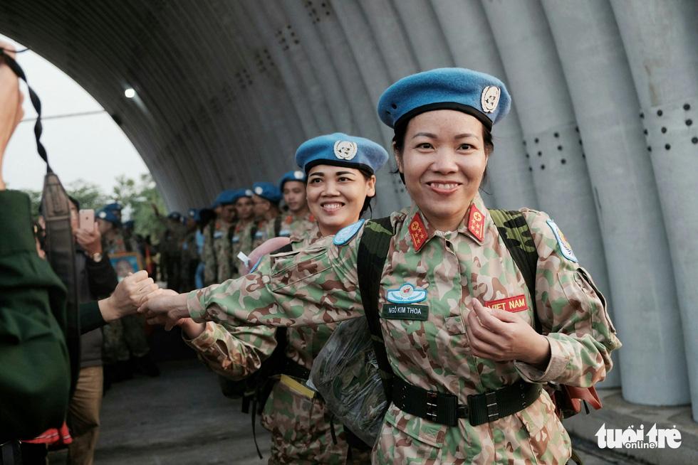 Ngựa thồ C17 Úc đưa quân nhân Việt Nam đi Nam Sudan gìn giữ hoà bình - Ảnh 4.