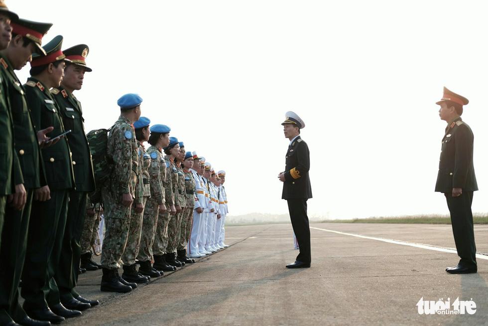 Ngựa thồ C17 Úc đưa quân nhân Việt Nam đi Nam Sudan gìn giữ hoà bình - Ảnh 8.