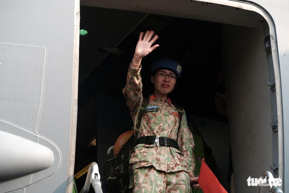 Ngựa thồ C17 Úc đưa quân nhân Việt Nam đi Nam Sudan gìn giữ hoà bình - Ảnh 15.