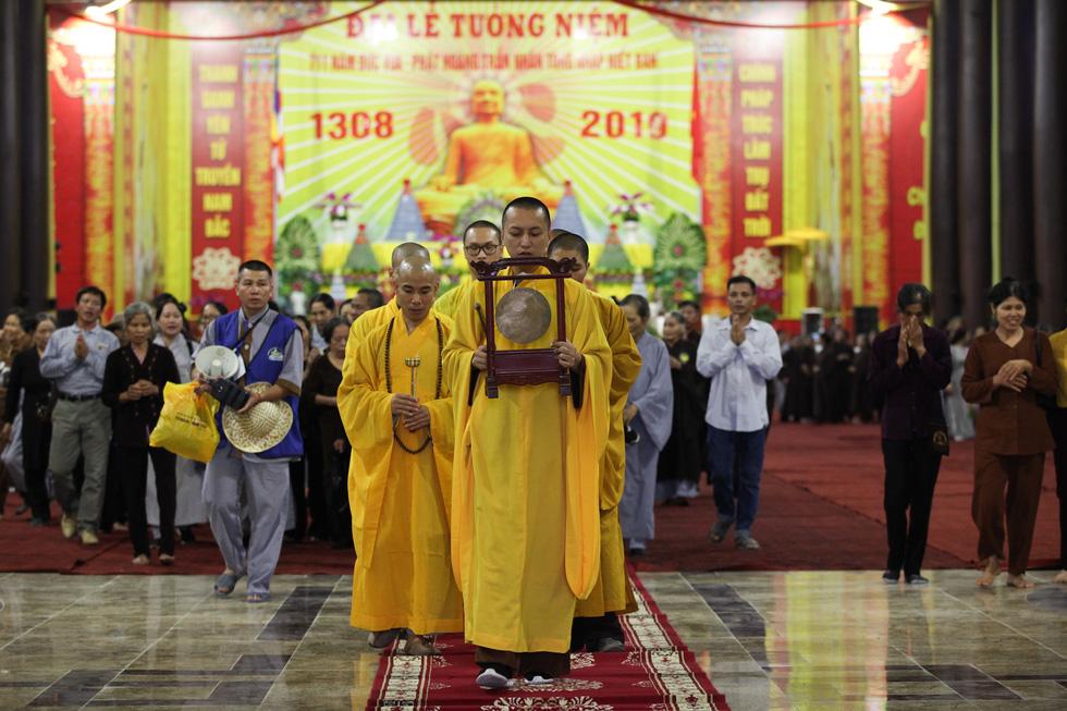 Tưởng niệm 711 năm Phật hoàng Trần Nhân Tông nhập niết bàn - Ảnh 1.