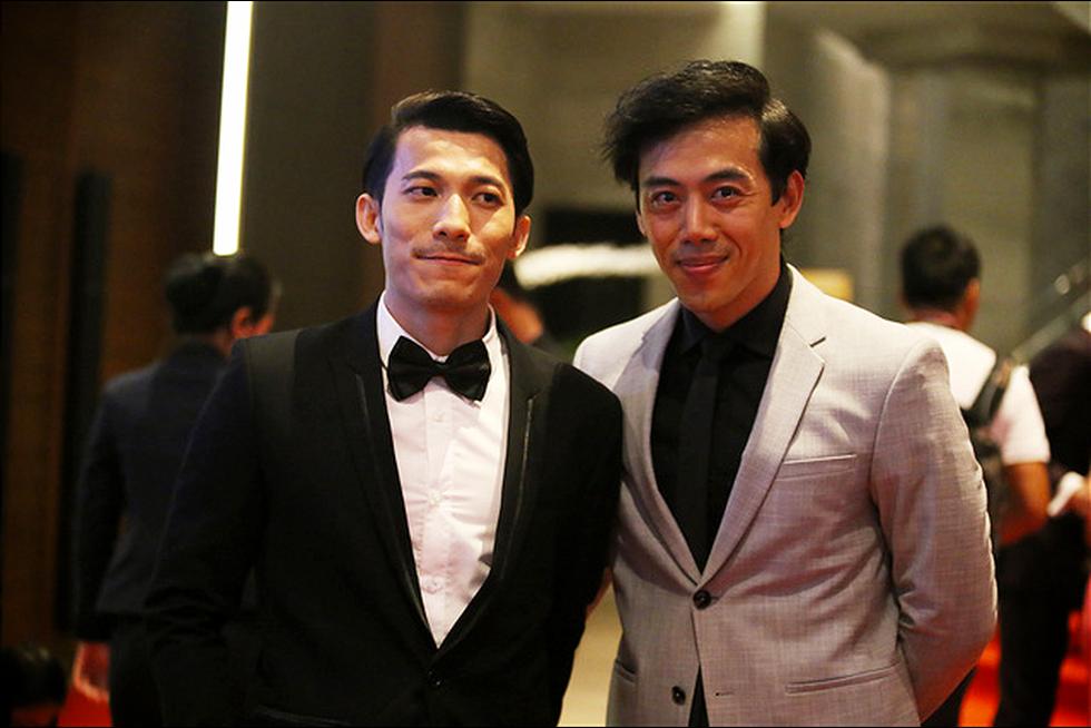 Ngô Thanh Vân, Liên Bỉnh Phát cùng dàn sao trên thảm đỏ Liên hoan phim Việt Nam - Ảnh 4.