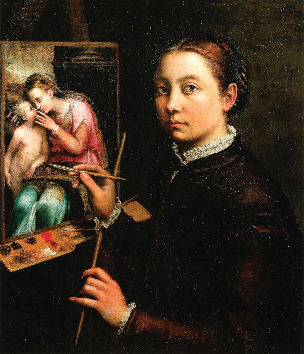 Nữ họa sĩ và 500 năm lộng lẫy: bất chấp định kiến, vẽ tranh khỏa thân - Ảnh 3.