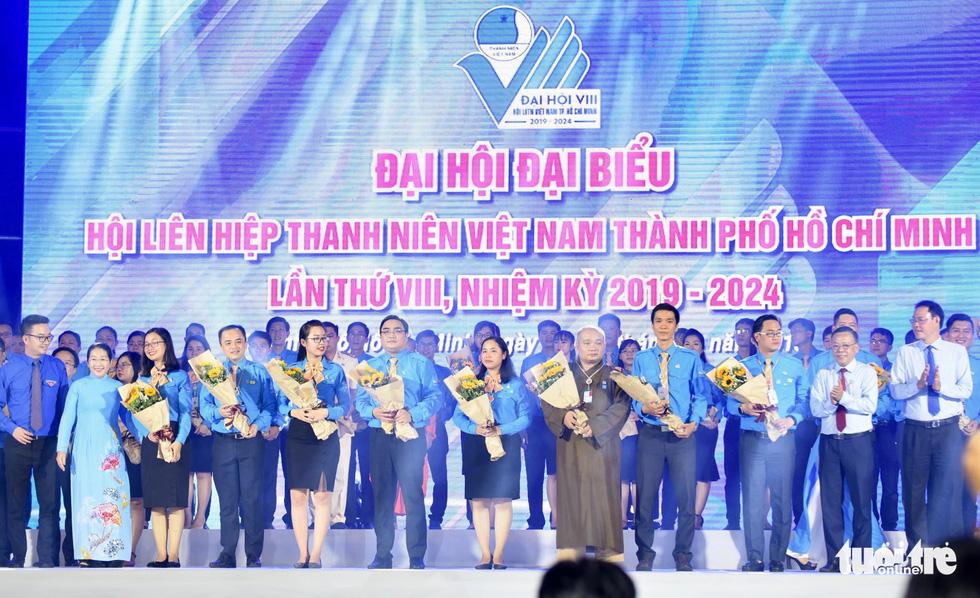 Anh Ngô Minh Hải tái đắc cử Chủ tịch Hội LHTN VN TP.HCM - Ảnh 1.