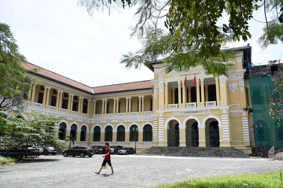 Tòa án nhân dân TP.HCM sẽ có bảo tàng nhỏ cho khách tham quan - Ảnh 1.