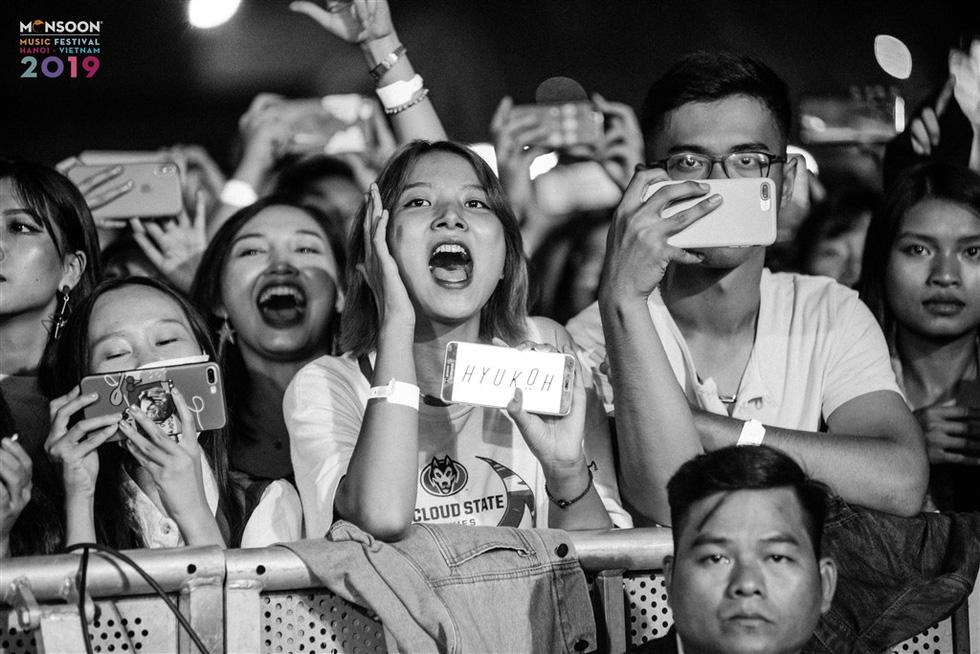 Phút cuối Monsoon: Khán giả níu chân ban nhạc Hàn Quốc Hyukoh - Ảnh 11.