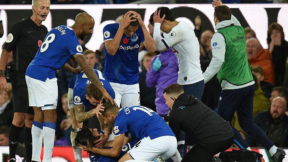 Son Heung Min khóc nức nở sau cú vào bóng khiến cầu thủ Everton gãy chân - Ảnh 7.