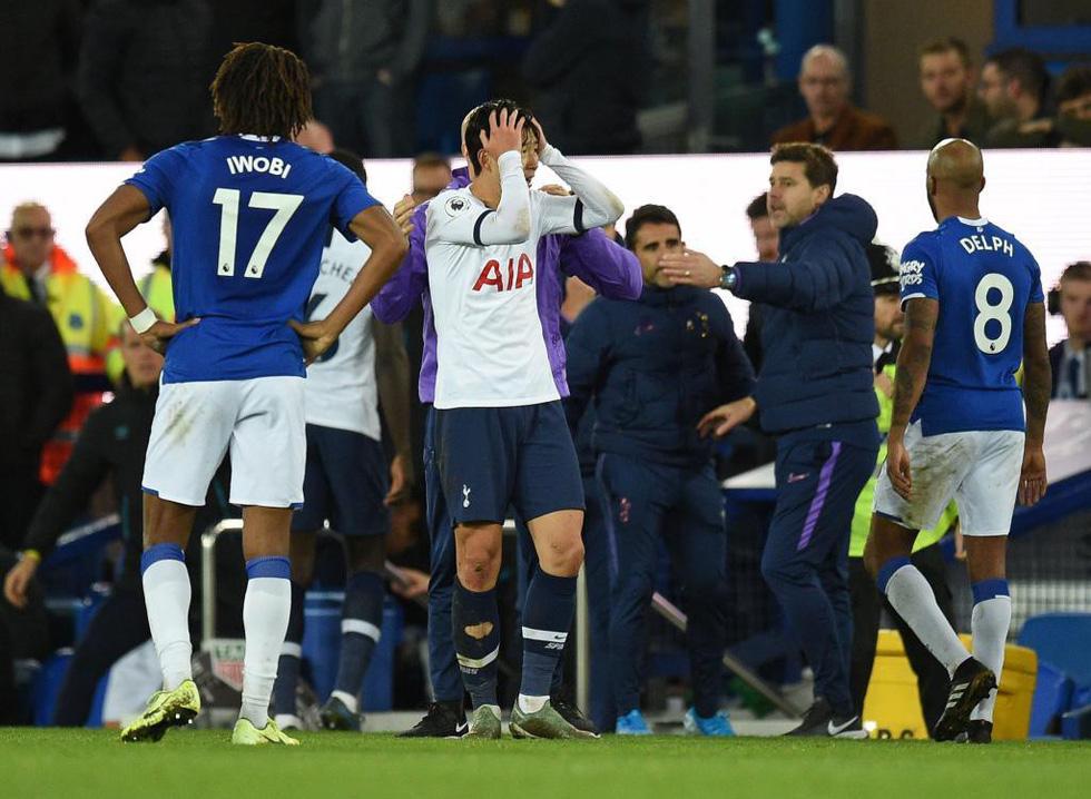 Son Heung Min khóc nức nở sau cú vào bóng khiến cầu thủ Everton gãy chân - Ảnh 8.