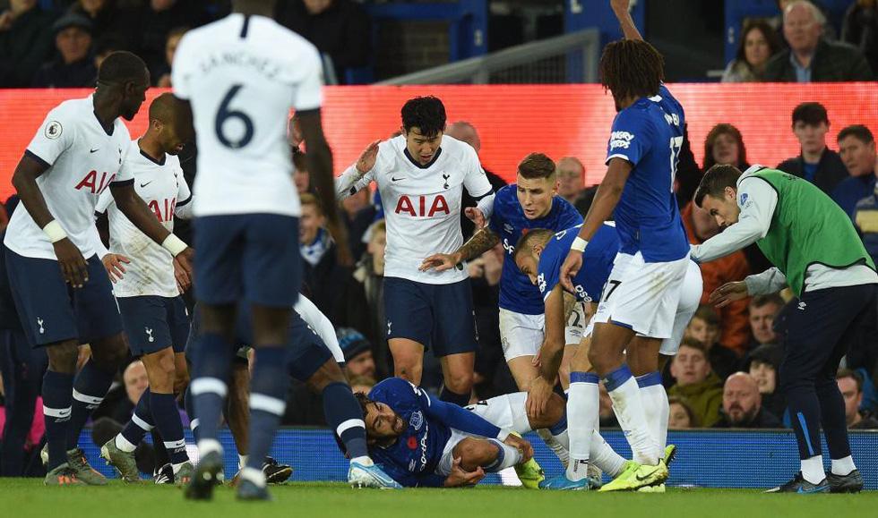 Son Heung Min khóc nức nở sau cú vào bóng khiến cầu thủ Everton gãy chân - Ảnh 4.