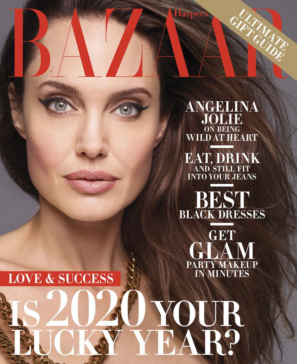 Angelina Jolie bất ngờ khỏa thân trên tạp chí Harpers Bazaar - Ảnh 6.