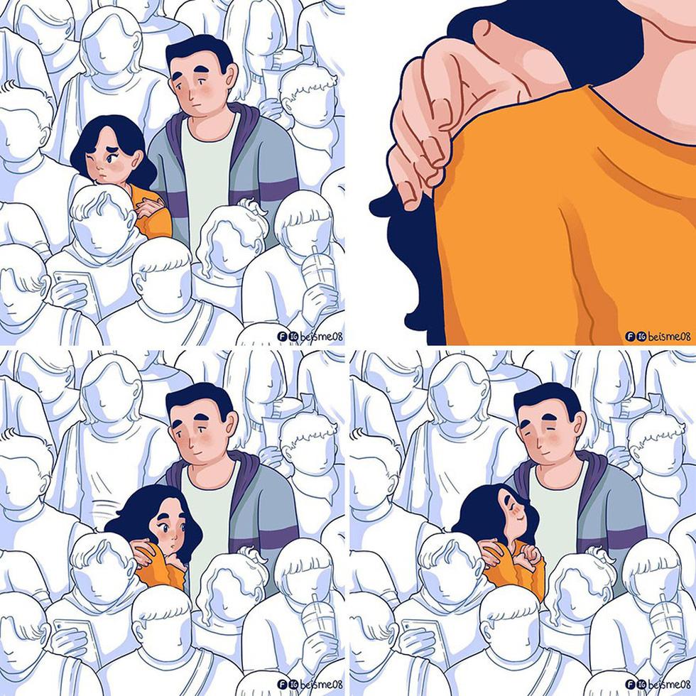 Nữ họa sĩ Việt kể chuyện tình yêu bằng tranh vẽ - Ảnh 12.