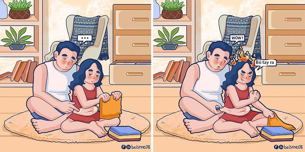 Nữ họa sĩ Việt kể chuyện tình yêu bằng tranh vẽ - Ảnh 14.