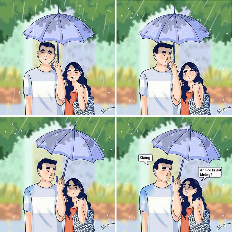 Nữ họa sĩ Việt kể chuyện tình yêu bằng tranh vẽ - Ảnh 16.