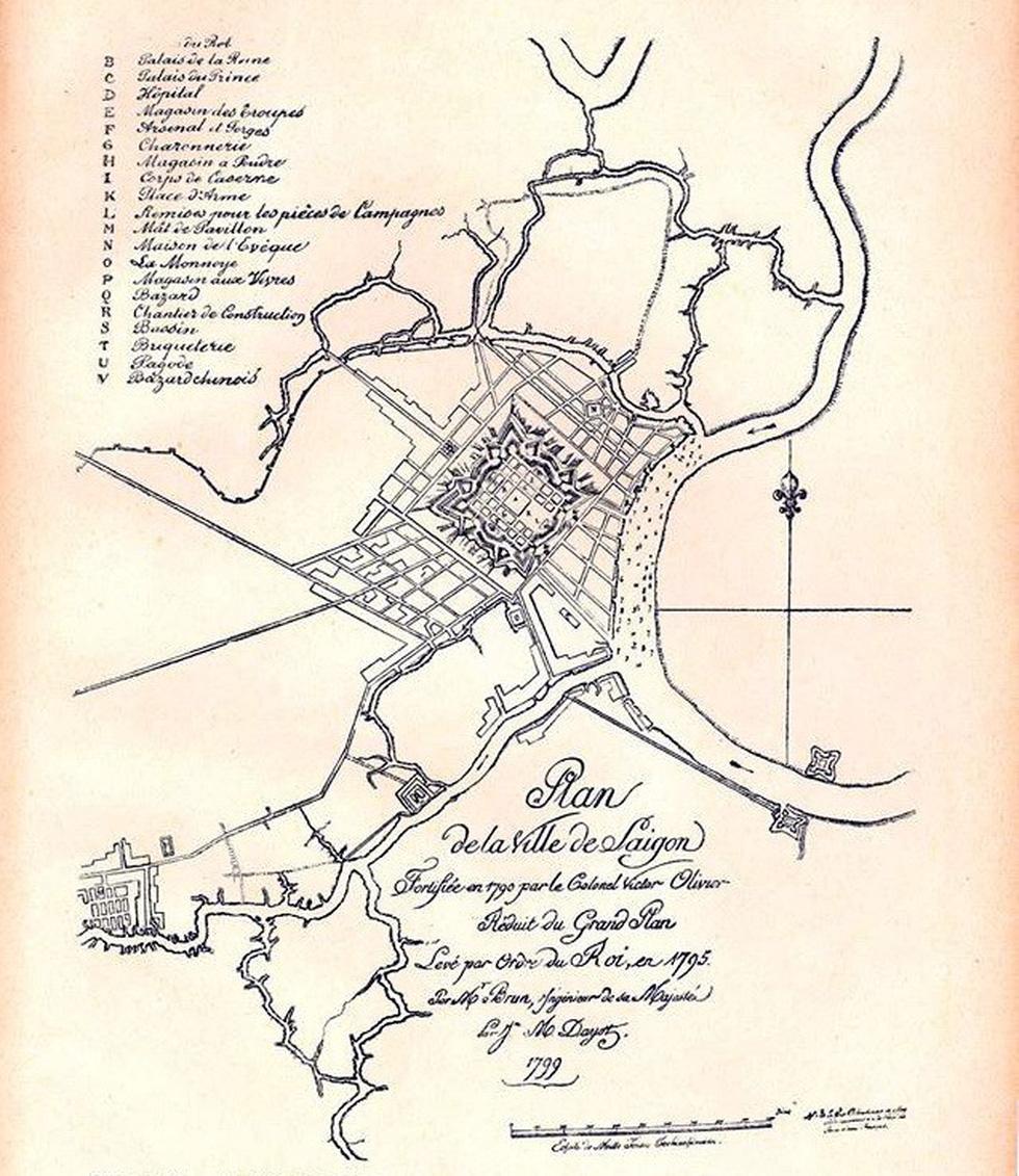 Xem bản đồ và hình ảnh hiếm có của Sài Gòn xưa - Ảnh 2.