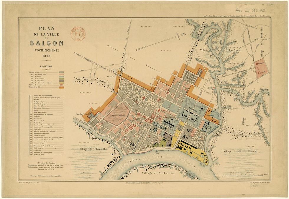 Xem bản đồ và hình ảnh hiếm có của Sài Gòn xưa - Ảnh 4.