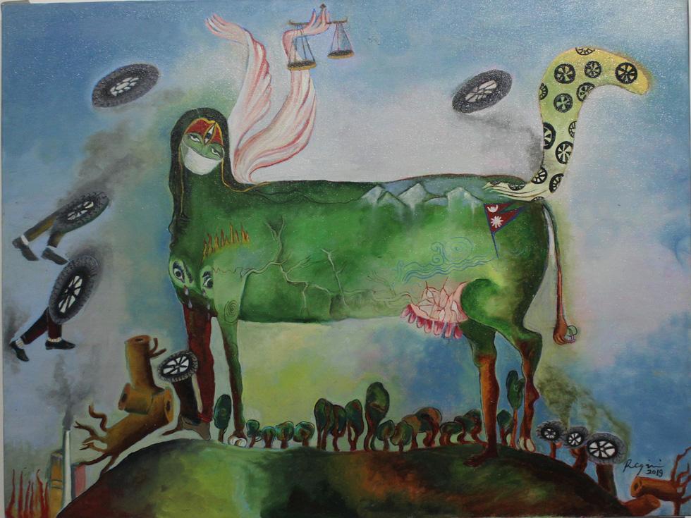 Tiệc hội họa thịnh soạn của các nghệ sĩ châu Á tiêu biểu tại Hà Nội - Ảnh 6.