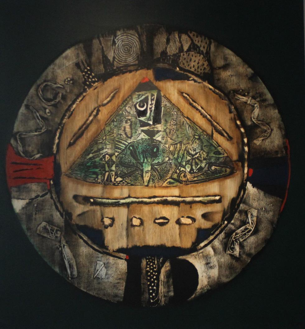 Tiệc hội họa thịnh soạn của các nghệ sĩ châu Á tiêu biểu tại Hà Nội - Ảnh 9.