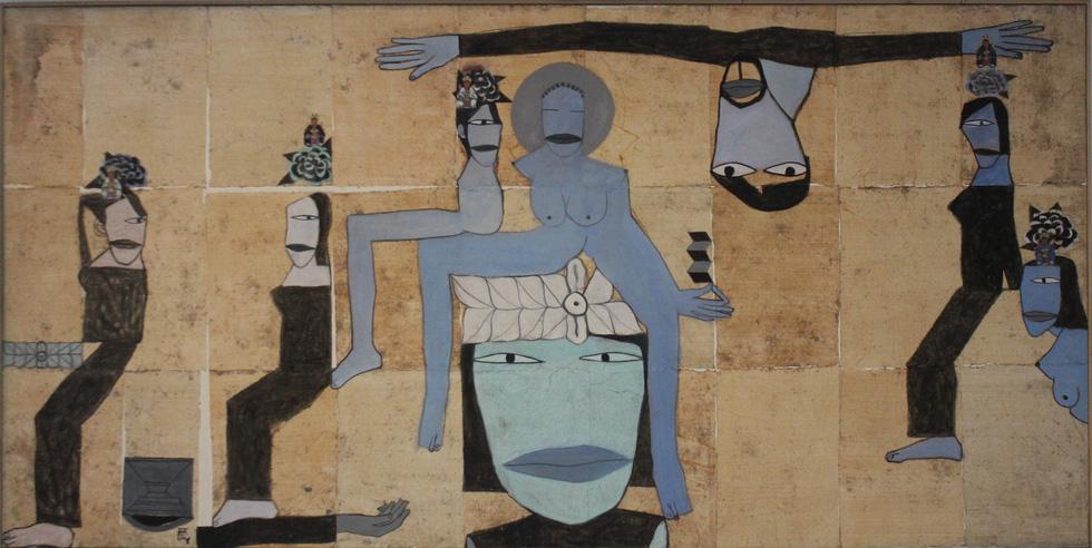 Tiệc hội họa thịnh soạn của các nghệ sĩ châu Á tiêu biểu tại Hà Nội - Ảnh 10.