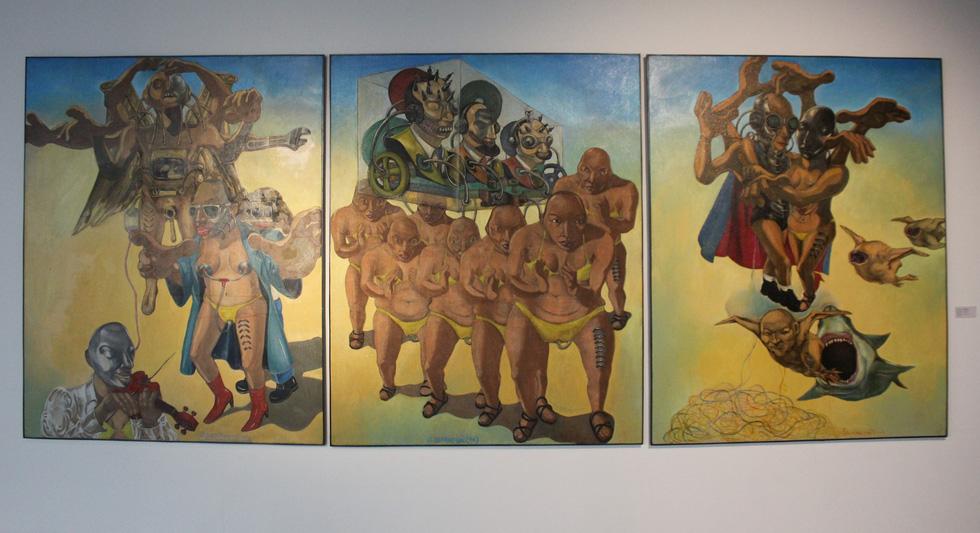 Tiệc hội họa thịnh soạn của các nghệ sĩ châu Á tiêu biểu tại Hà Nội - Ảnh 11.