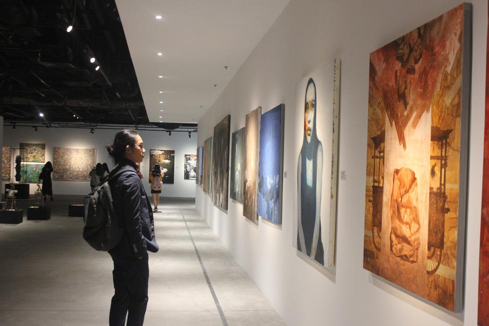 Tiệc hội họa thịnh soạn của các nghệ sĩ châu Á tiêu biểu tại Hà Nội - Ảnh 3.