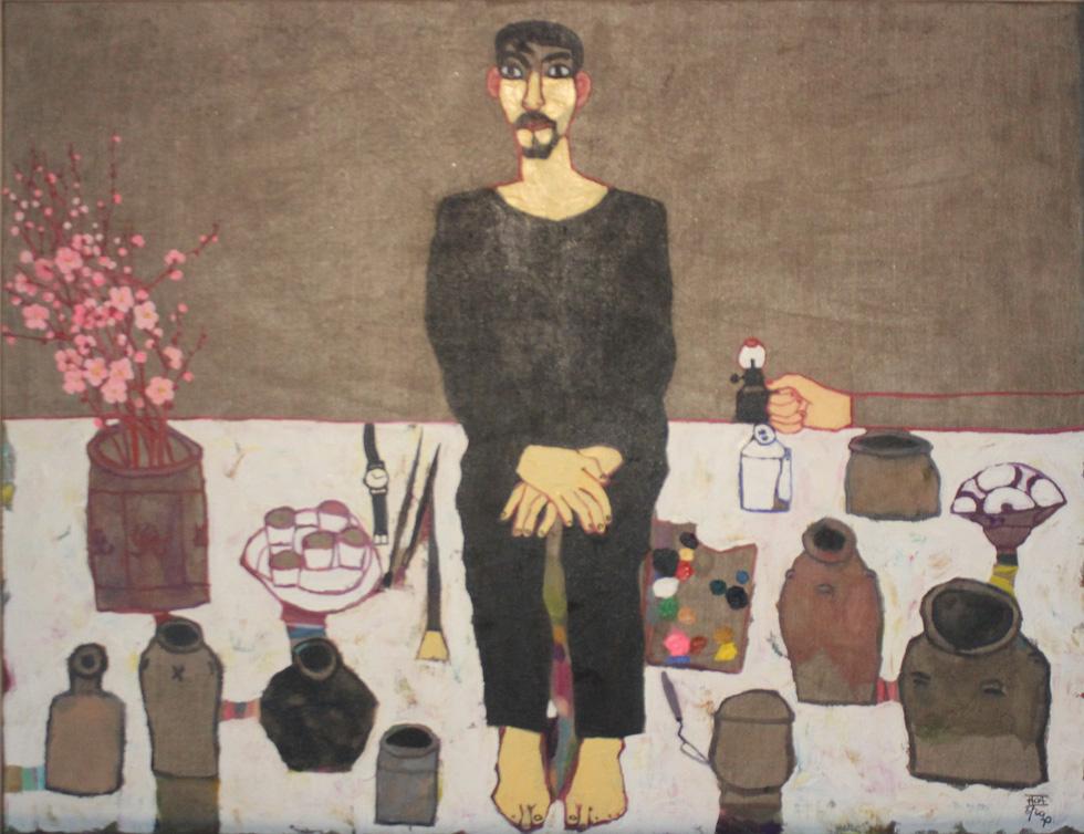 Tiệc hội họa thịnh soạn của các nghệ sĩ châu Á tiêu biểu tại Hà Nội - Ảnh 17.