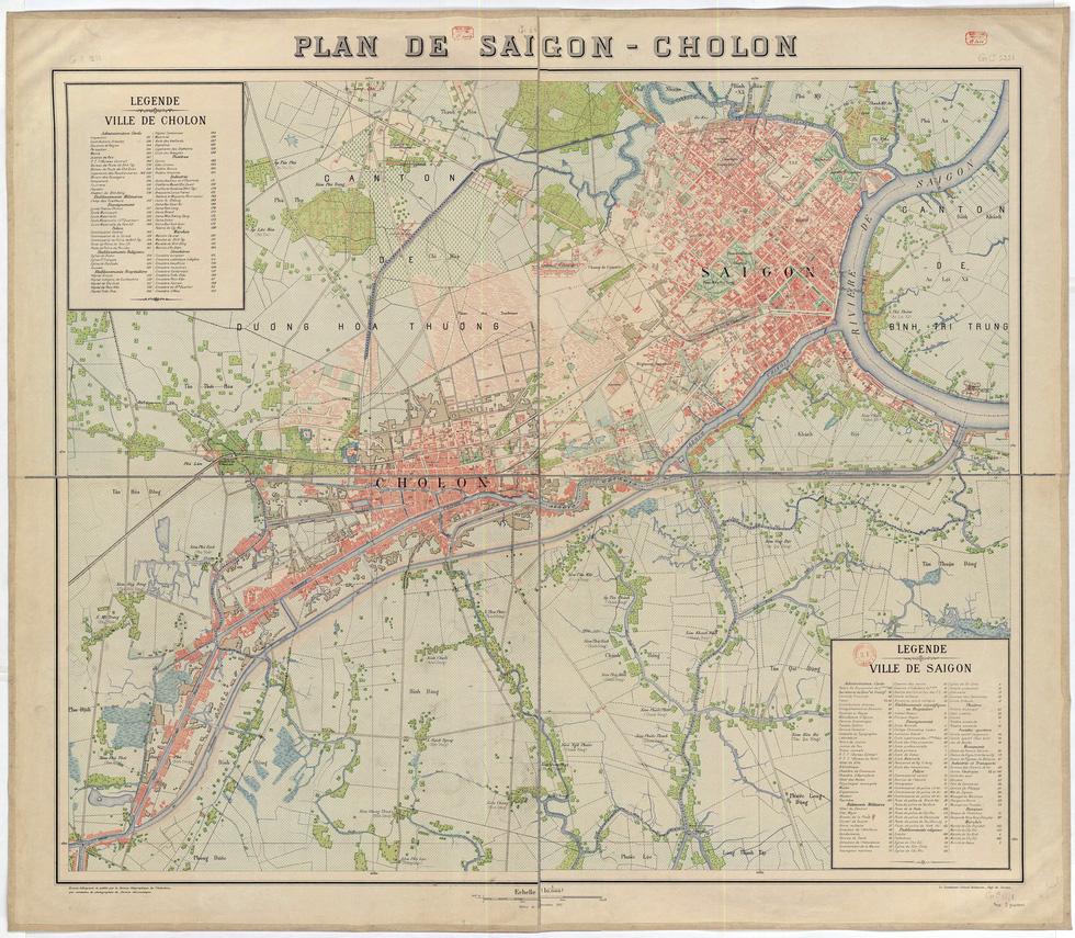 Xem bản đồ và hình ảnh hiếm có của Sài Gòn xưa - Ảnh 5.