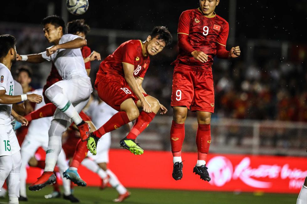 Những tình huống nghẹt thở trong trận thắng của U22 Việt Nam trước U22 Indonesia - Ảnh 3.