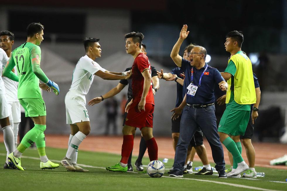 Những tình huống nghẹt thở trong trận thắng của U22 Việt Nam trước U22 Indonesia - Ảnh 7.