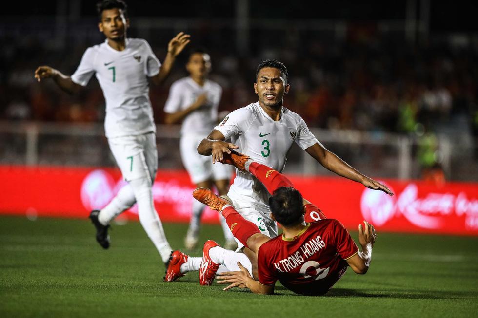 Những tình huống nghẹt thở trong trận thắng của U22 Việt Nam trước U22 Indonesia - Ảnh 11.
