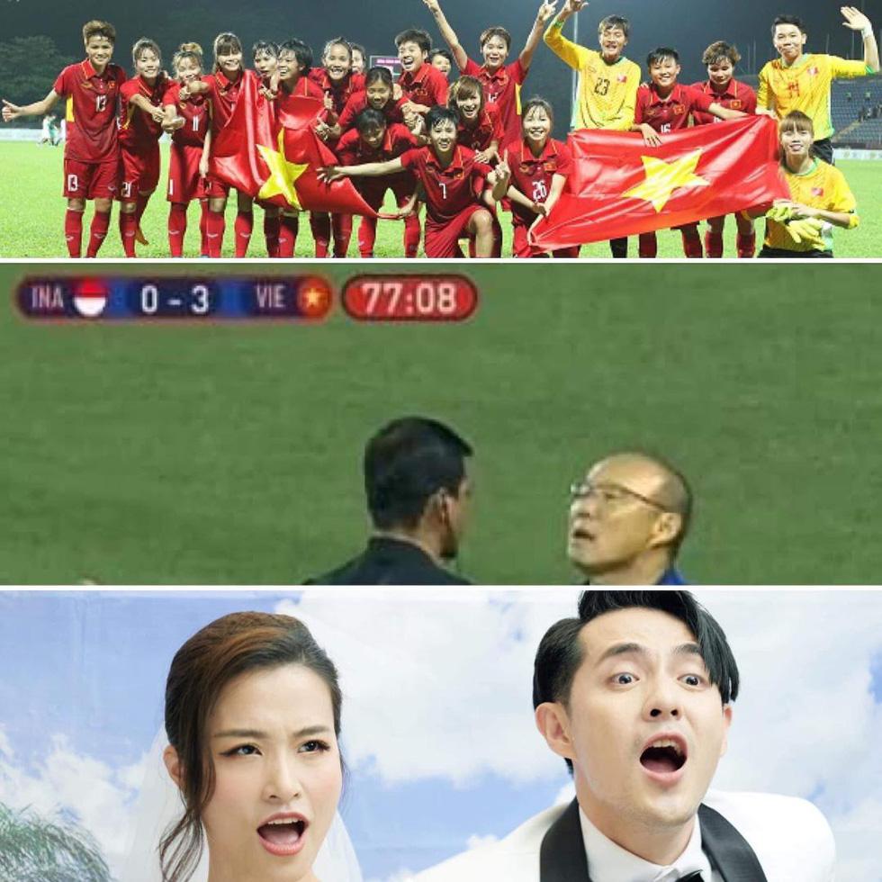 Tiểu Vy tự hào dự đoán đúng, Hà Anh Tuấn cảm ơn ông Park Hang Seo - Ảnh 1.