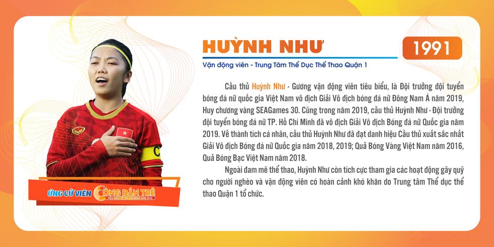 Nữ cầu thủ Huỳnh Như là ứng viên 'Công dân trẻ tiêu biểu TP.HCM' - Ảnh 11.