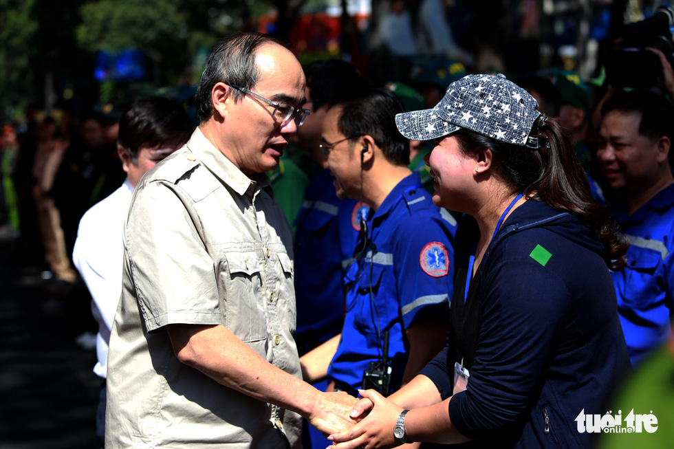 TP.HCM diễn tập xử lý các tình huống tụ tập biểu tình, bắt cóc, khủng bố - Ảnh 12.