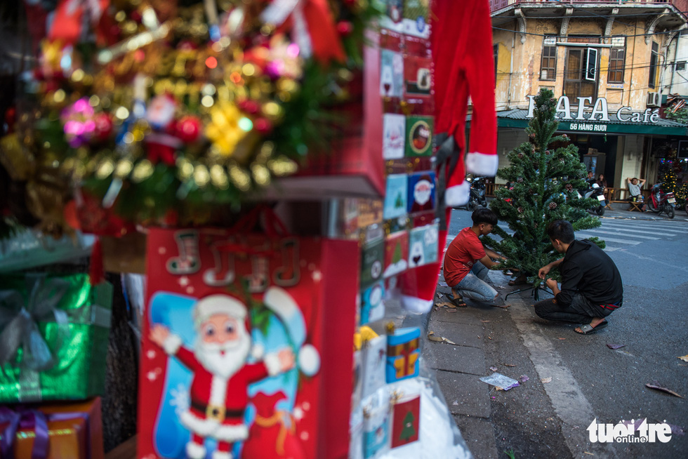Chơi tới mùa Noel: thông 18-30 triệu vẫn hút khách - Ảnh 4.