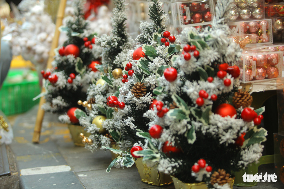 Chơi tới mùa Noel: thông 18-30 triệu vẫn hút khách - Ảnh 8.