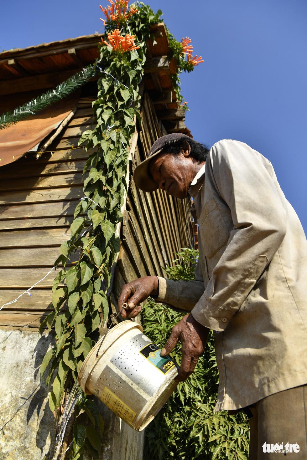 Ngôi nhà phủ hoa chùm ớt ở Lâm Đồng đã không còn - Ảnh 5.