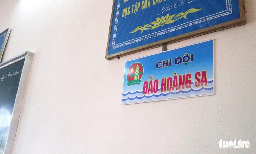 16 lớp học đặt tên theo các đảo ở Trường Sa, Hoàng Sa - Ảnh 2.