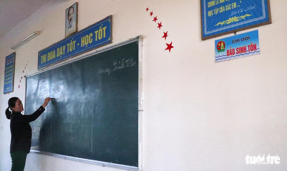 16 lớp học đặt tên theo các đảo ở Trường Sa, Hoàng Sa - Ảnh 6.