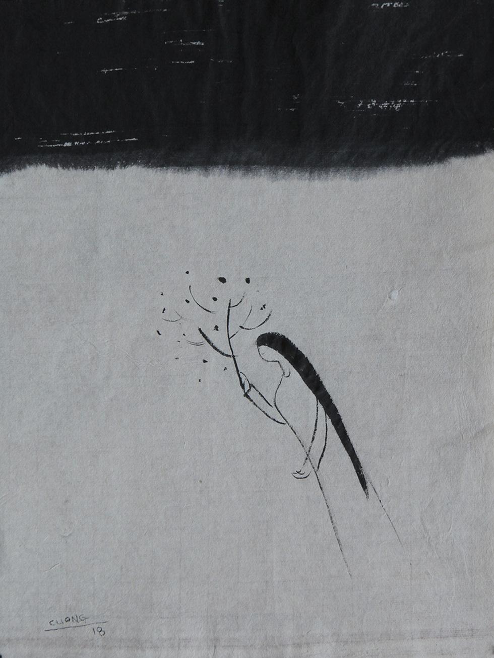 Xem tranh, ảnh đẹp như thơ trong triển lãm Chuyện áo dài - Ảnh 8.