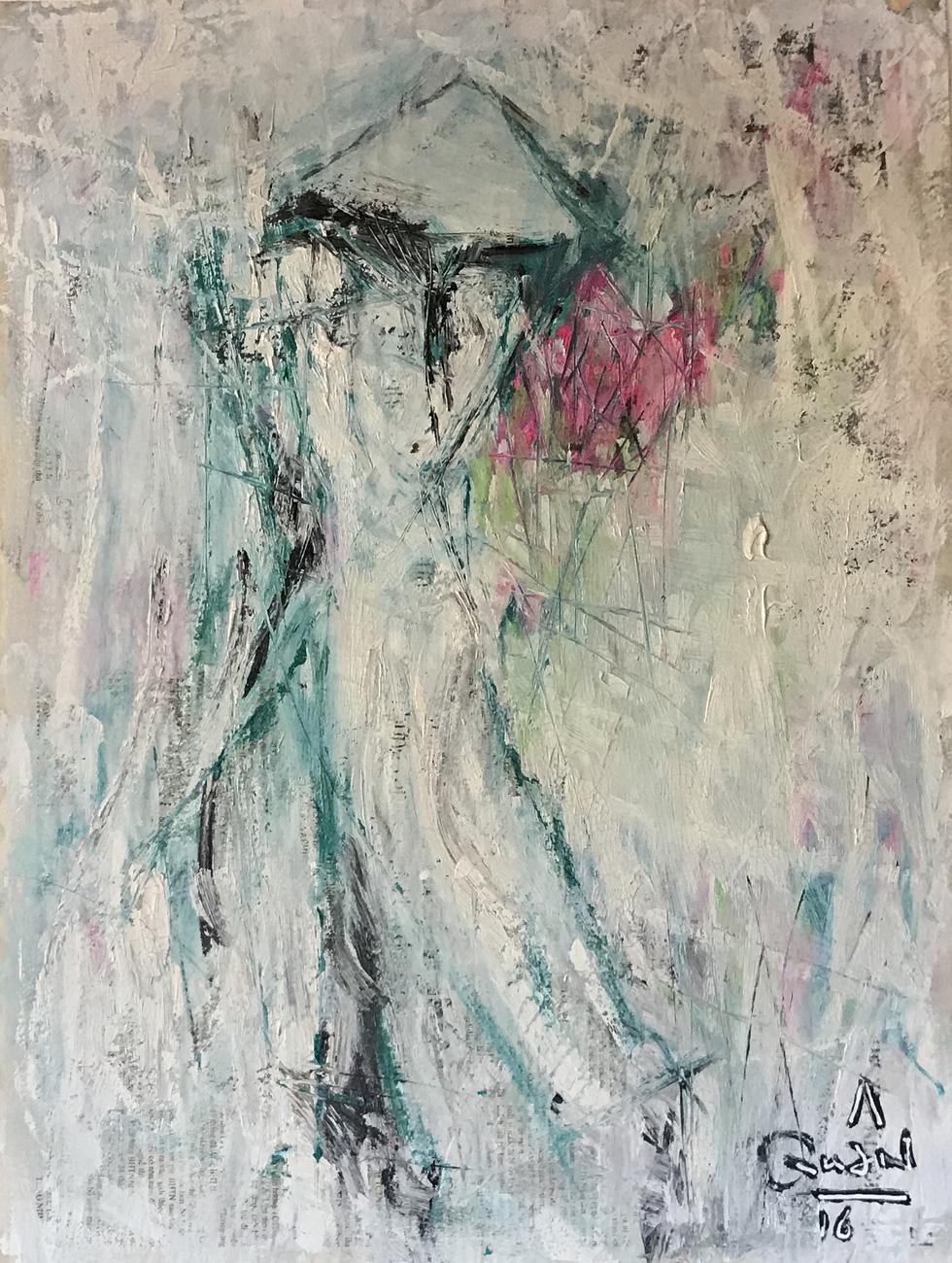 Xem tranh, ảnh đẹp như thơ trong triển lãm Chuyện áo dài - Ảnh 15.