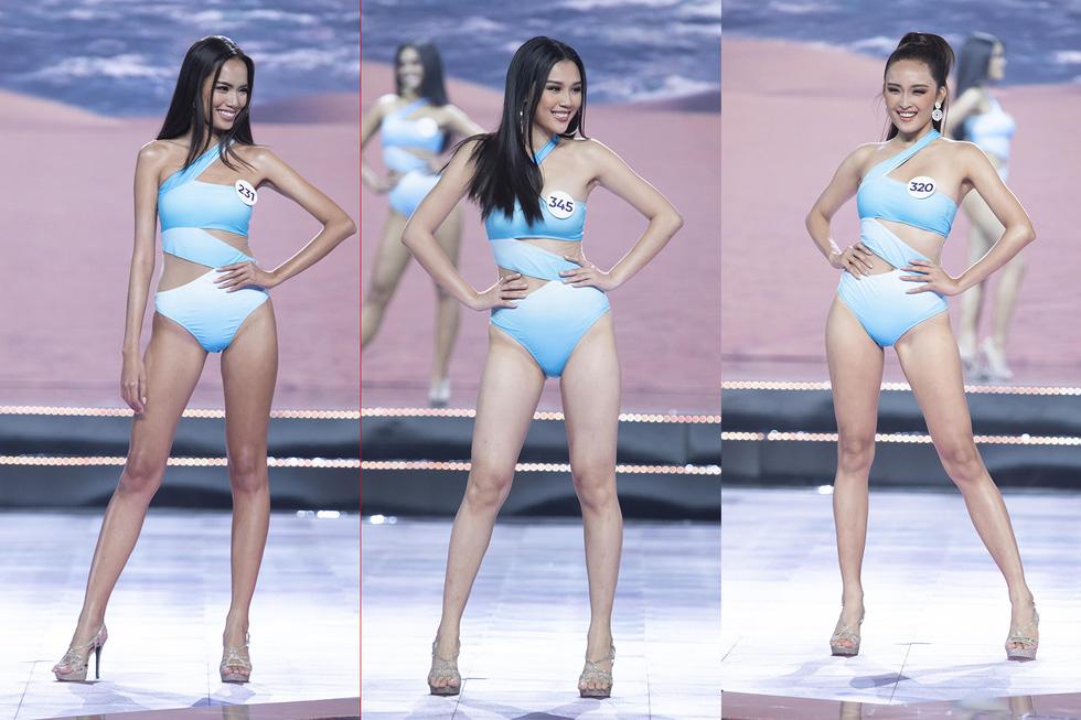 45 thí sinh Hoa hậu Hoàn vũ Việt Nam 2019 nóng bỏng trình diễn bikini - Ảnh 12.