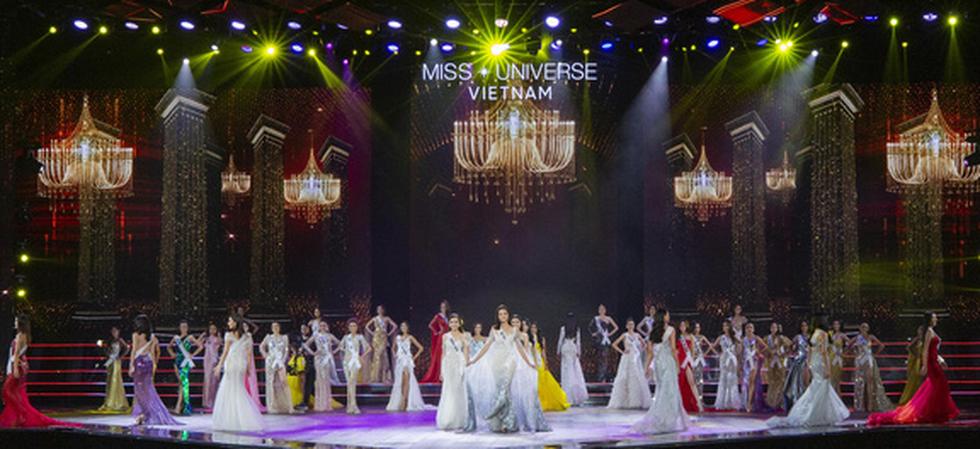 45 thí sinh Hoa hậu Hoàn vũ Việt Nam 2019 nóng bỏng trình diễn bikini - Ảnh 15.