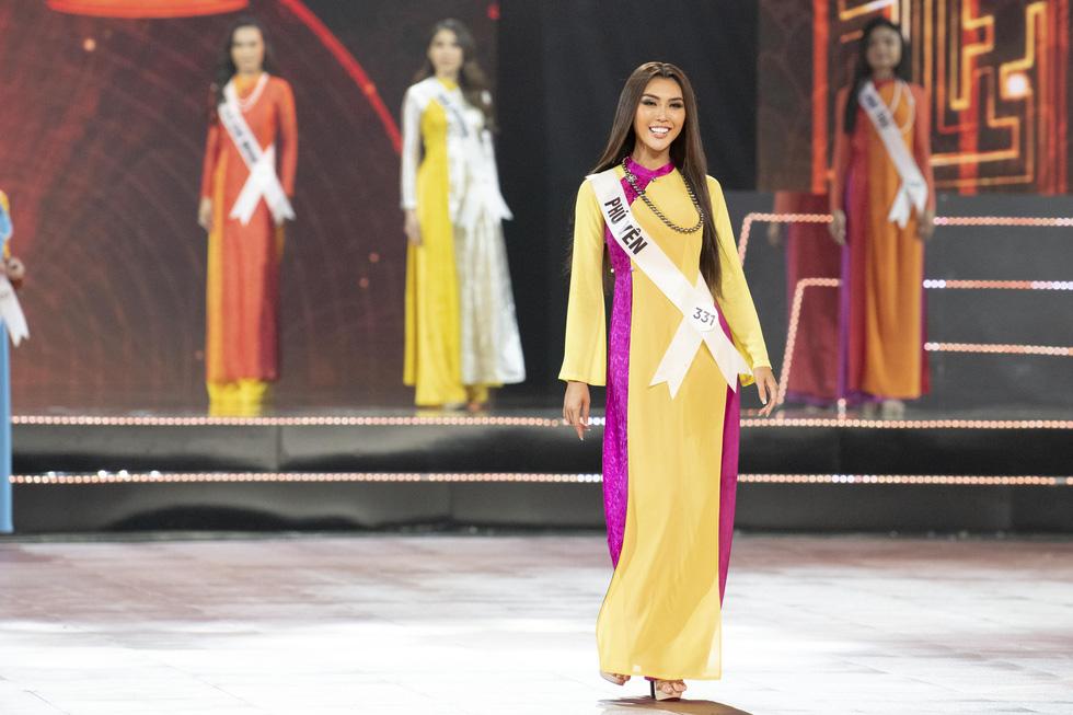45 thí sinh Hoa hậu Hoàn vũ Việt Nam 2019 nóng bỏng trình diễn bikini - Ảnh 8.