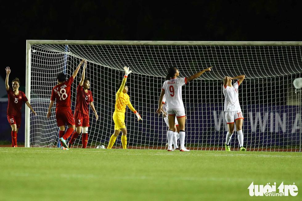 Trận đấu quả cảm của các nữ tuyển thủ Việt Nam - Ảnh 5.