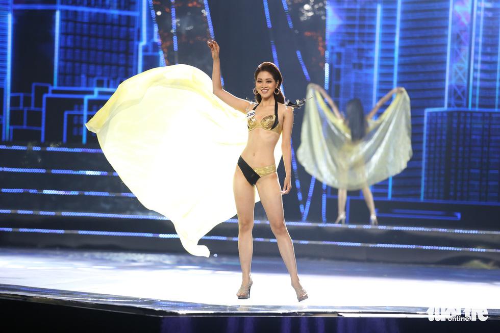 Trình diễn bikini của Top 15 Hoa hậu Hoàn vũ Việt Nam 2019 - Ảnh 12.