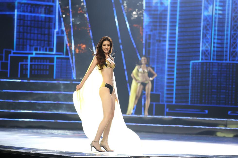 Trình diễn bikini của Top 15 Hoa hậu Hoàn vũ Việt Nam 2019 - Ảnh 8.